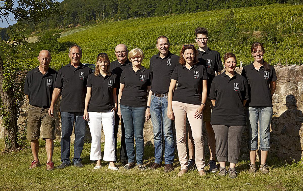 Equipe du domaine Bernhard & Reibel